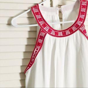 Stitch Fix Embroidered Halter Neck Top! Size XS
